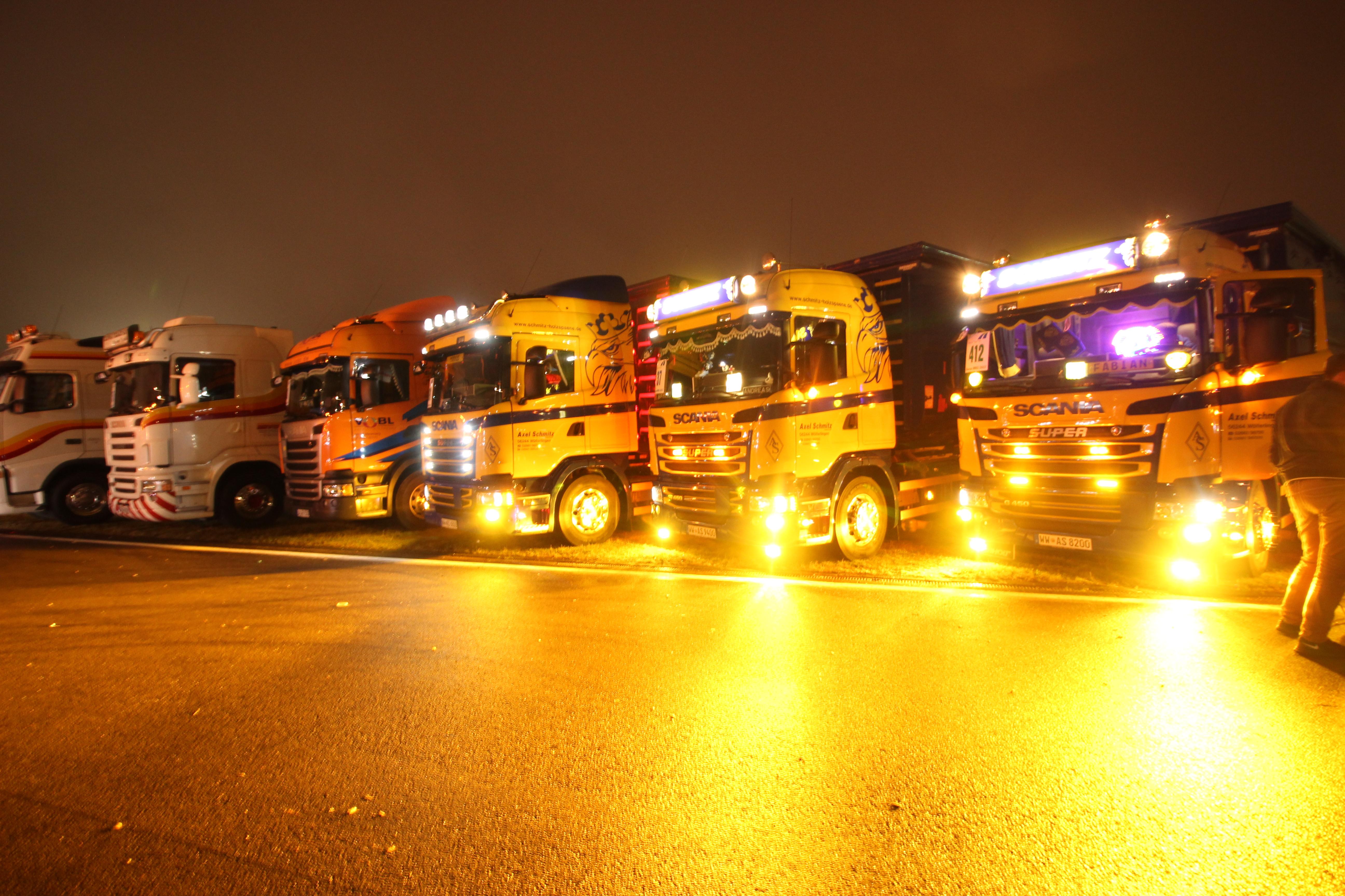 Auf dem Truck Grand Prix präsentieren sich die LKW.