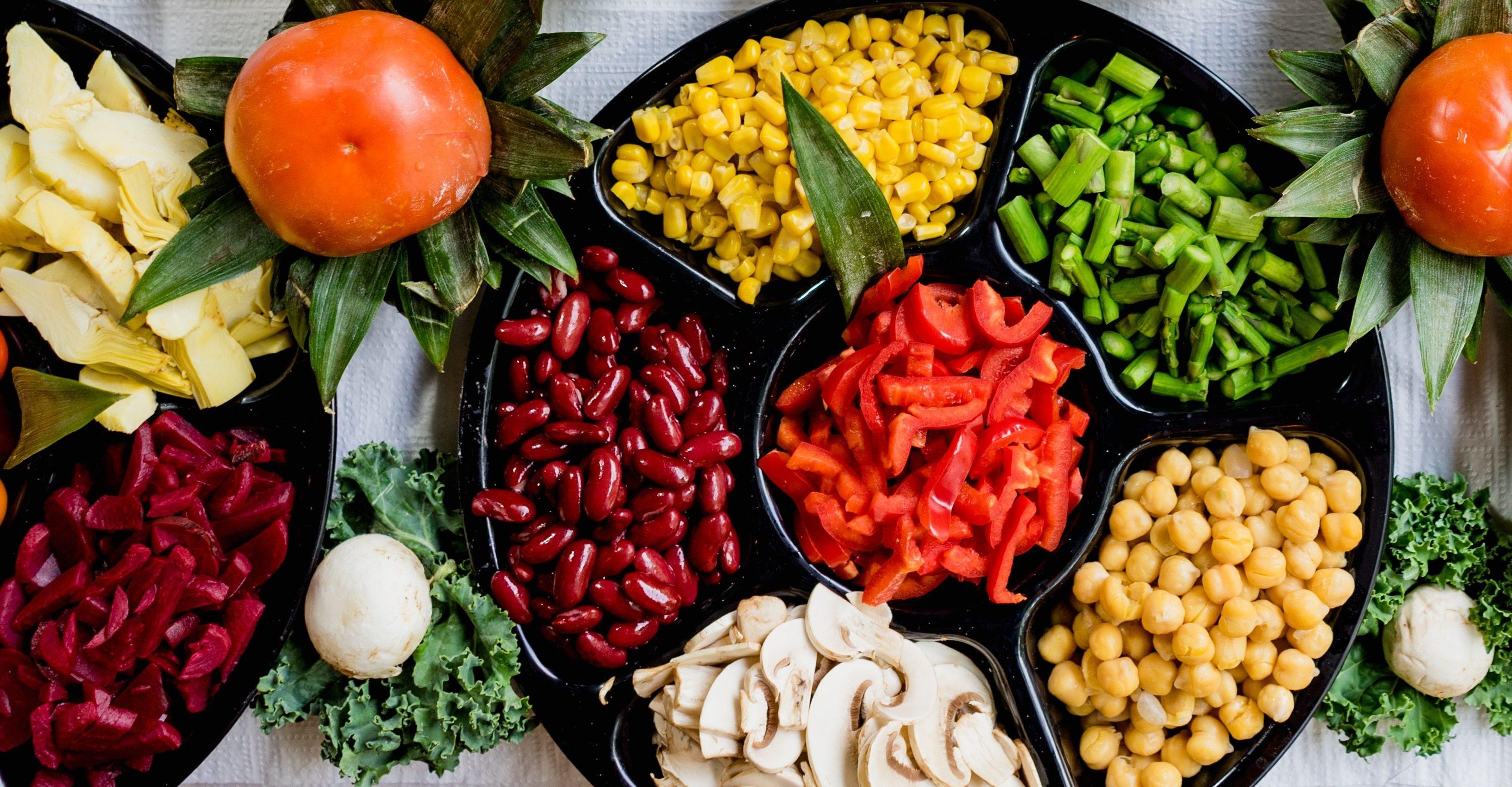 Frisches Gemüse gehört zu einer gesunden Ernährung