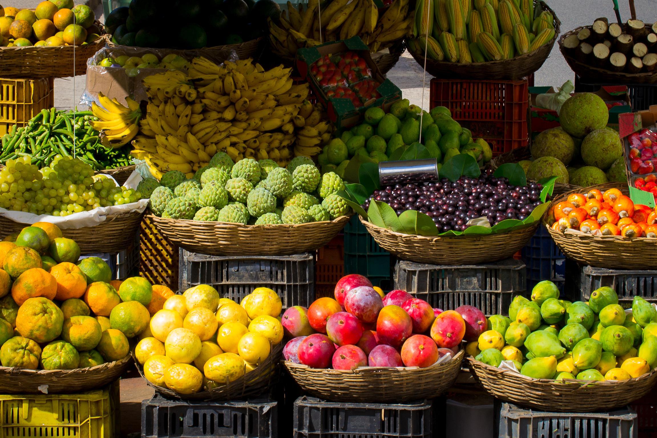 Frisches Obst sorgt für den nötigen Energieschub