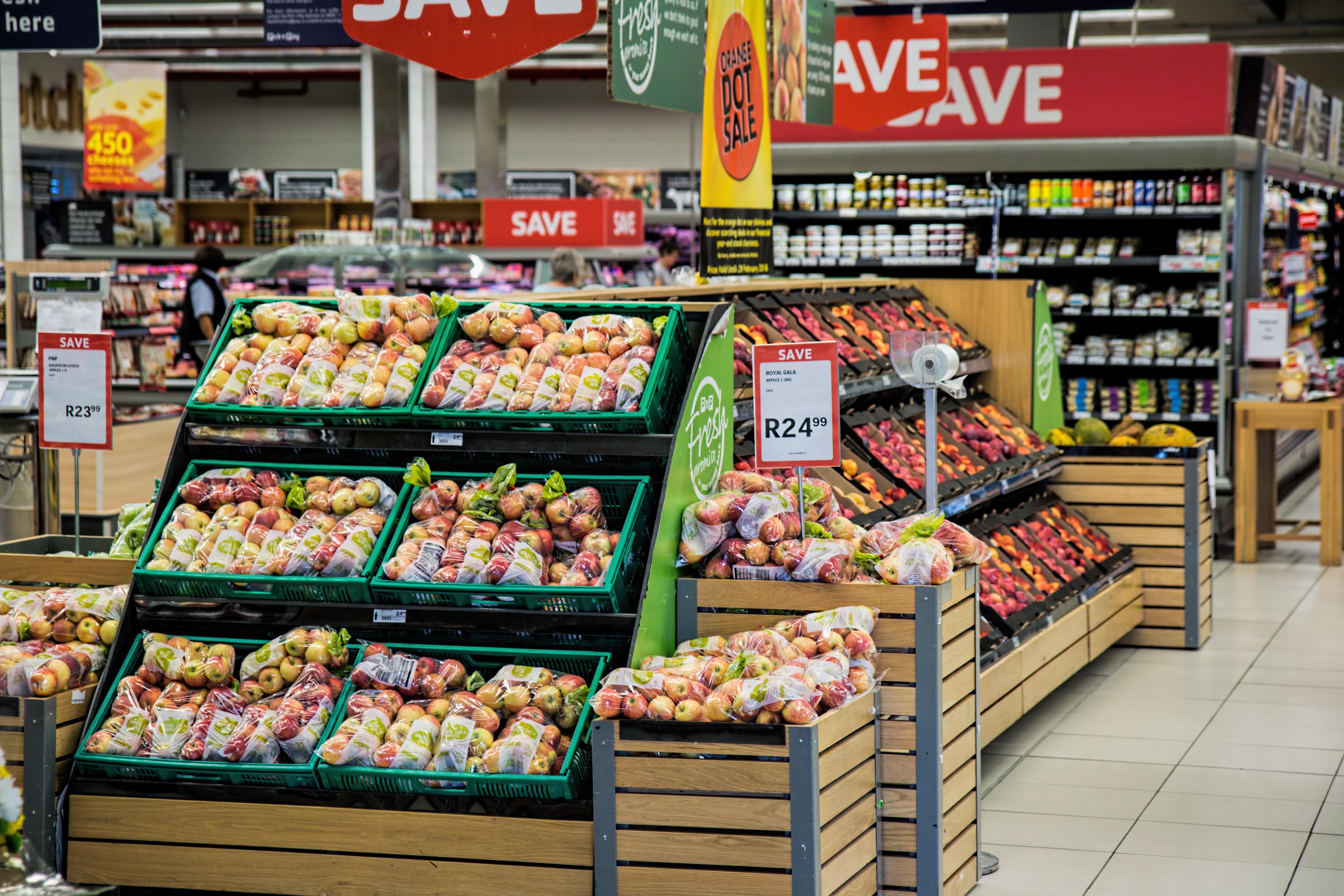 Mögliche Zukunft der Tankstellen: Umnutzung zum Supermarkt.